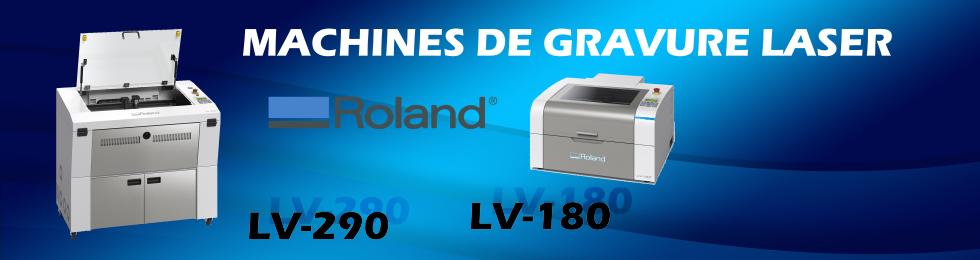 Machines de gravure laser Roland