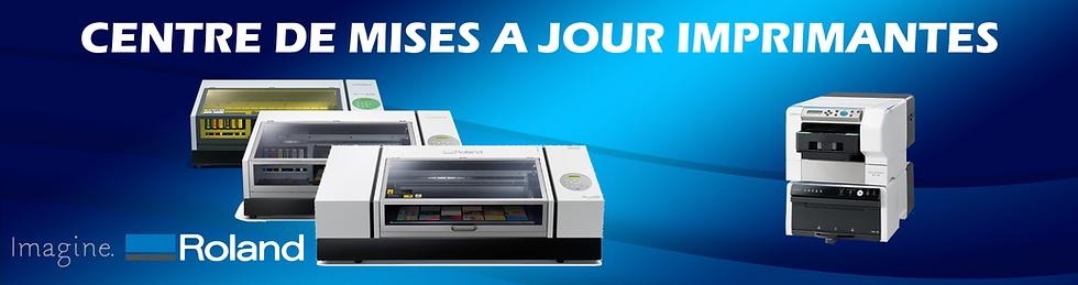 Imprimantes à plat UV Roland VersaUV