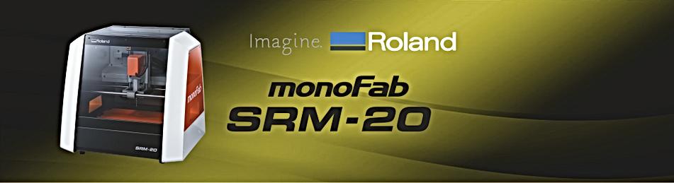 Machine de Modélisation 3D Roland SRM-20