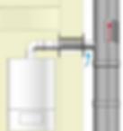conduits 3CE adapté pour être installé à l'extérieur d'un bâtiment