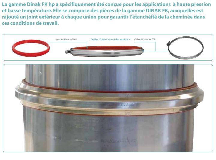conduits de fumée modulaires simple proi pour cogénérations et micro-cogénérations