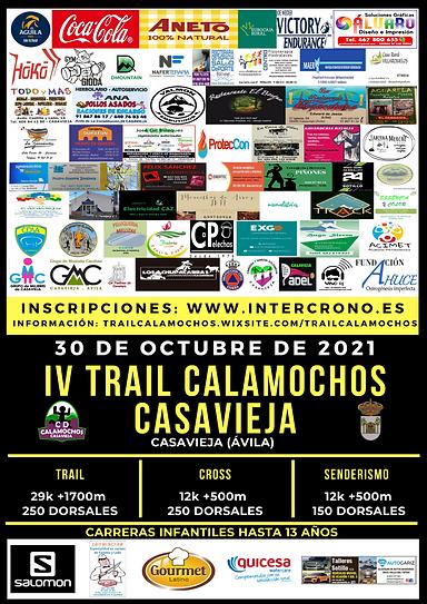 IV TRAIL CALAMOCHOS CASAVIEJA CON PATROCINADORES Y COLABORADORES.png