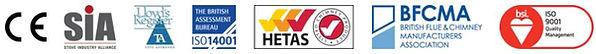 L'ensemble de notre gamme de conduit de cheminée est certifiée NF ou CE correspondant à l'ensemble des normes en vigueur