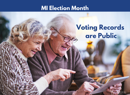 Did you know election records are public?