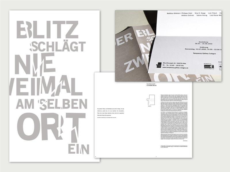 Ausstellungskatalog + Einladung für Kuratorengruppe Kukuk