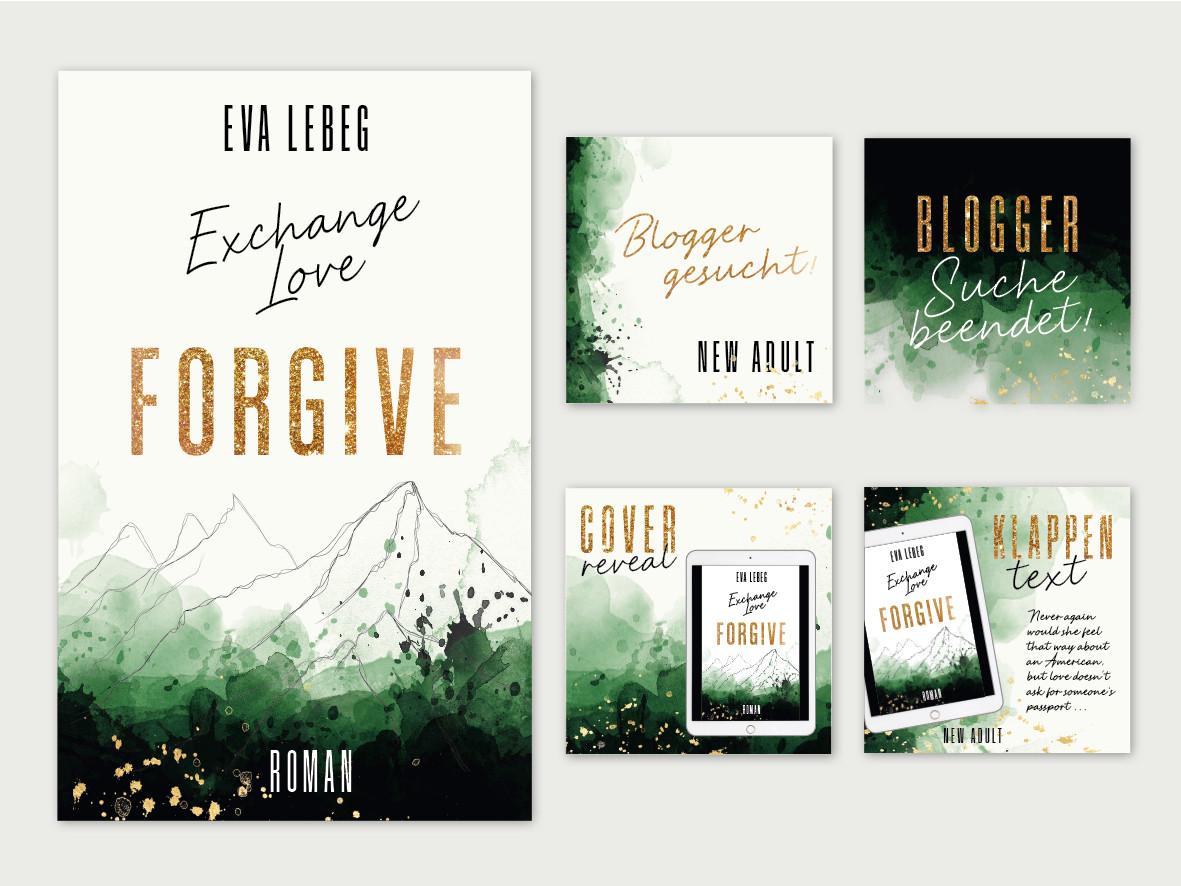 Coverdesign & Images für Social Media