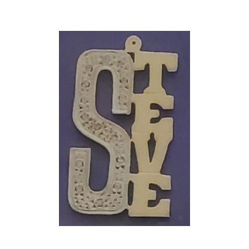 10 & 14 Karat Nameplate for Necklace (Single Plate)