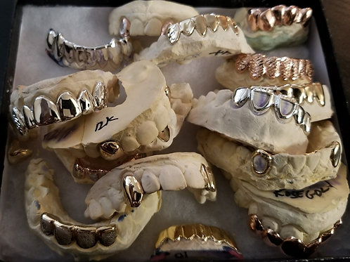 Finishing Options to complete your Grill. Set 1. Missing Teeth