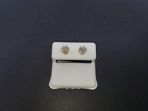 10kt. Diamond Earrings