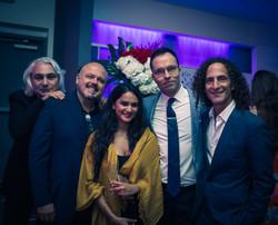 Oleg, Walter, Shubhangi and Kenny G.