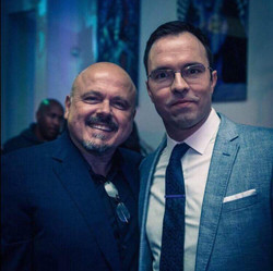 With Walter Afanasieff