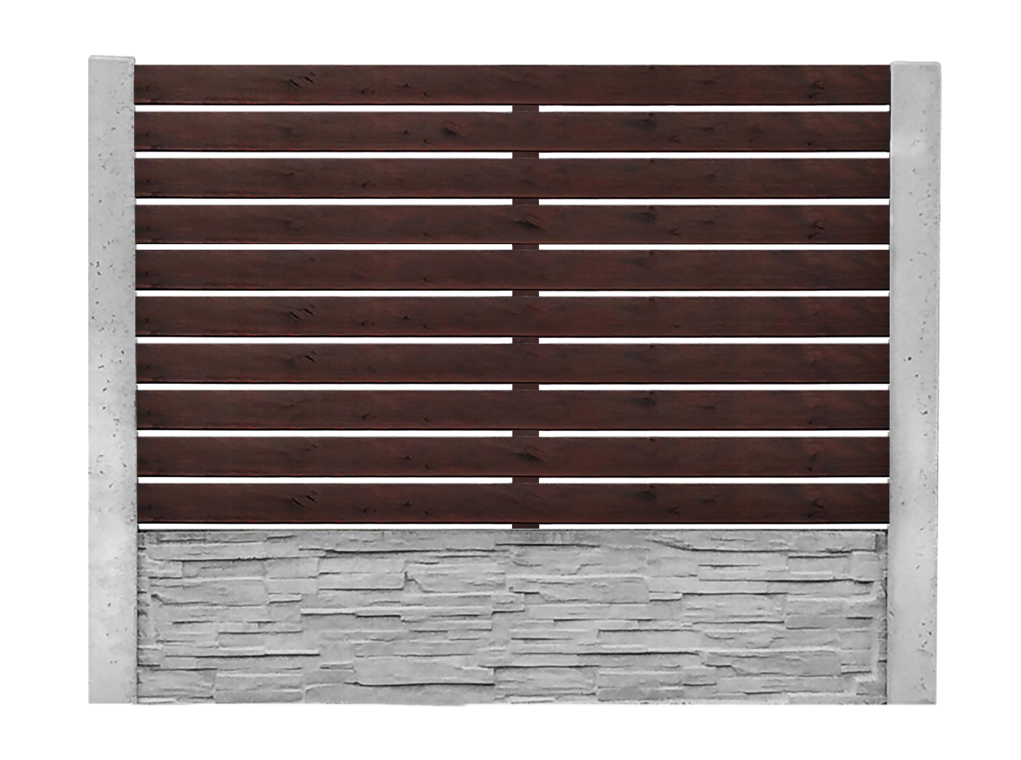 Dřevěná výplň 3. - 150x200cm