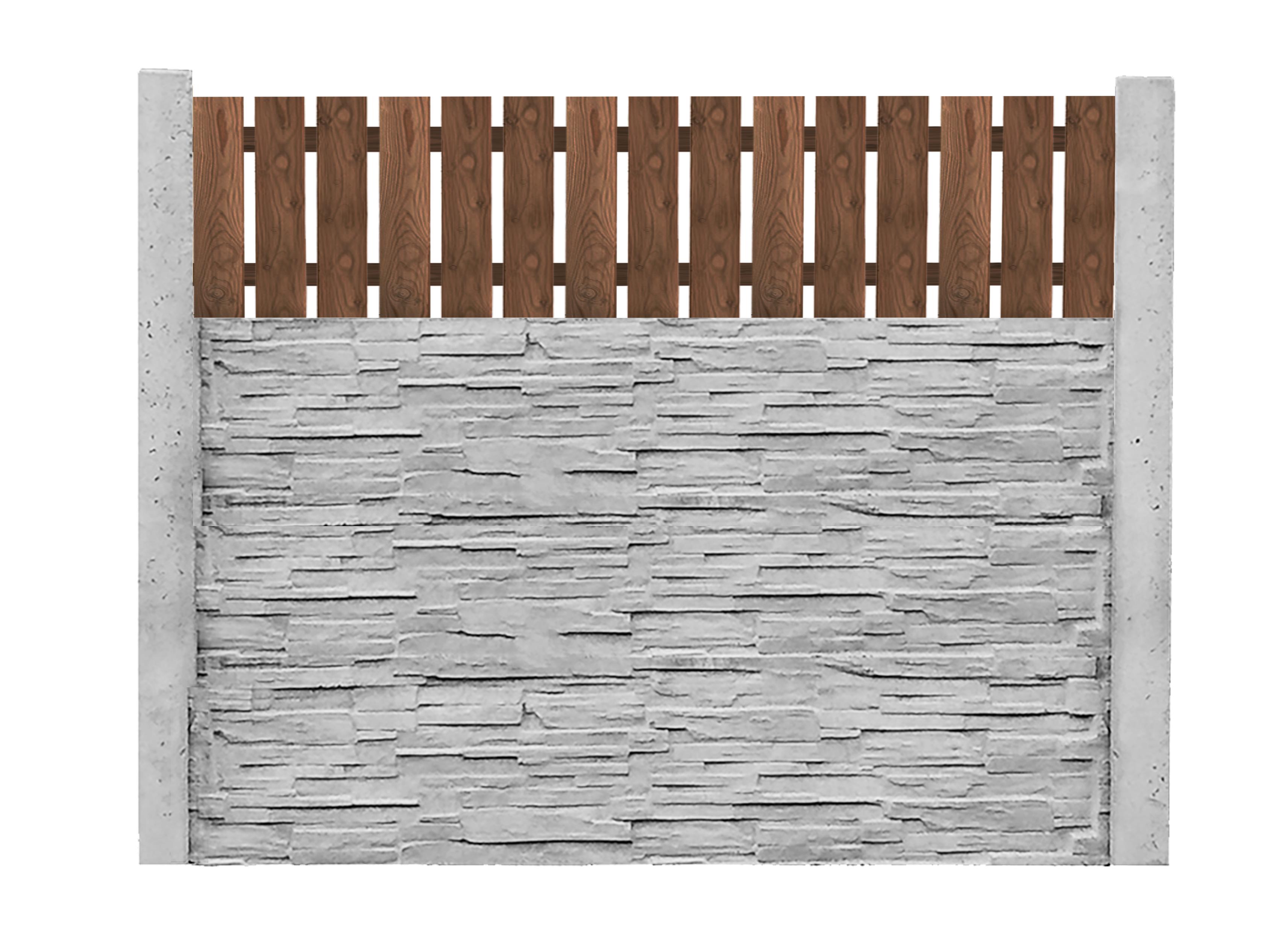 Dřevěná výplň 7. - 50x200cm