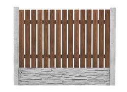 Dřevěná výplň 9. - 150x200cm