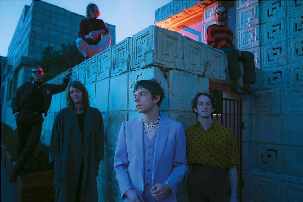 Die amerikanische Band Cage The Elephant.