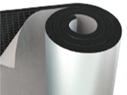 Isıdem Aluminyum PVC Kaplı ve Yapışkanlı Elastomerik Kauçuk Yalıtım Levhası