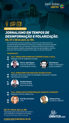 Uninter comemora Dia dos Jornalistas com convidados especiais