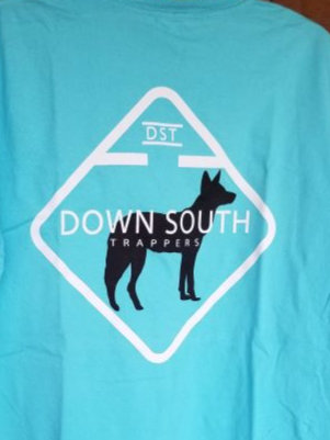 Down south Trapper Logo t-shirt
