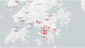 Mapping Current EV Charger Infrastructure with Web Scraping and Big Data