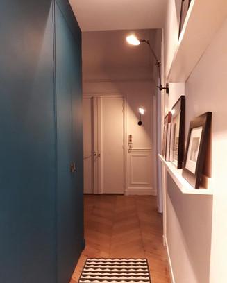 Aménagement couloir