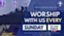 Copy of church worship flyer - Made with