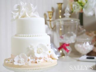 1歳のお祝い♡お誕生日ケーキ