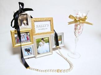 SALLY'S for wedding cake