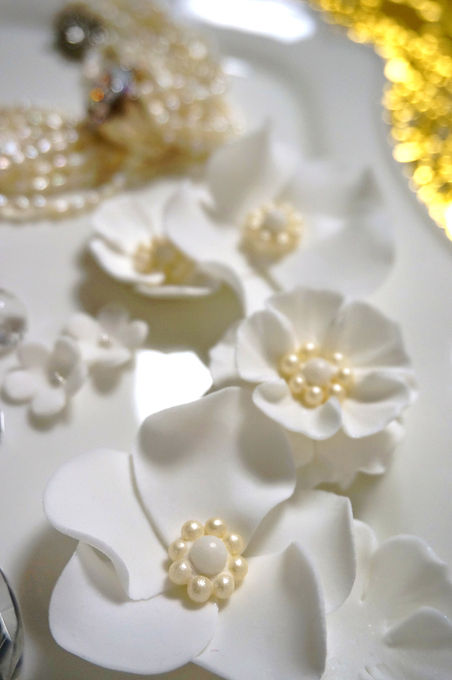 wedding cake ウェディング ケーキ パール pearl sugar シュガー