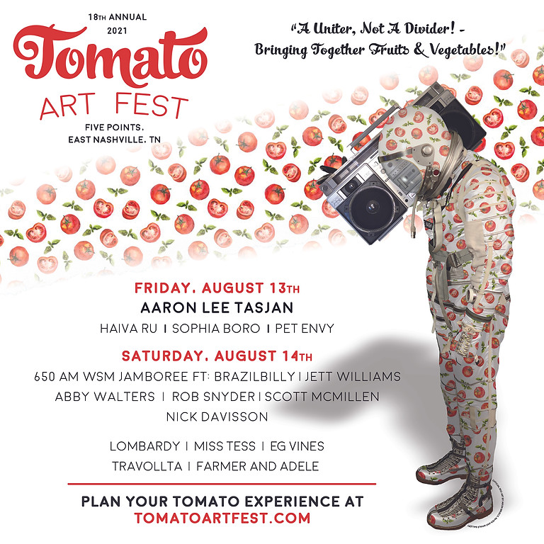 Farmer & Adele - Live at the Tomato Arts Fest - East Nashville, TN