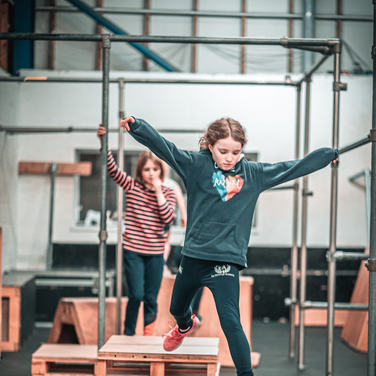 Girls Parkour Room to Move
