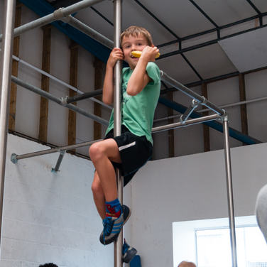 Kids Play Parkour Room to Move