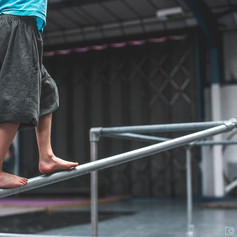 Kids Barefoot Balance Indoor Parkour