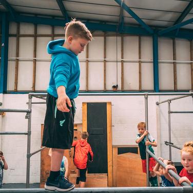 Kids Parkour indoor