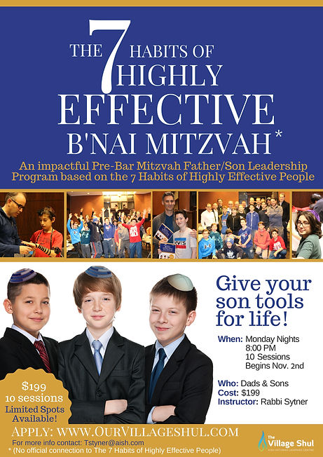 The 7 Habits of Highly Effective Bnai Mi