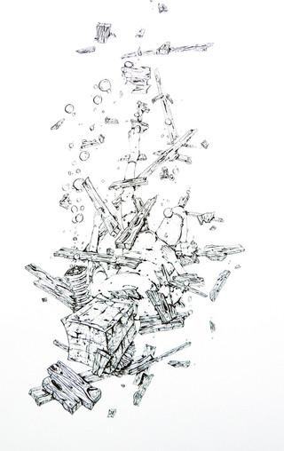 Sinking Figure, 2012