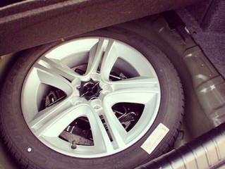 Об использовании запасного колеса и контроле его состояния