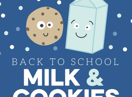 -SOLD OUT- Cookies and Milk Back to School Special