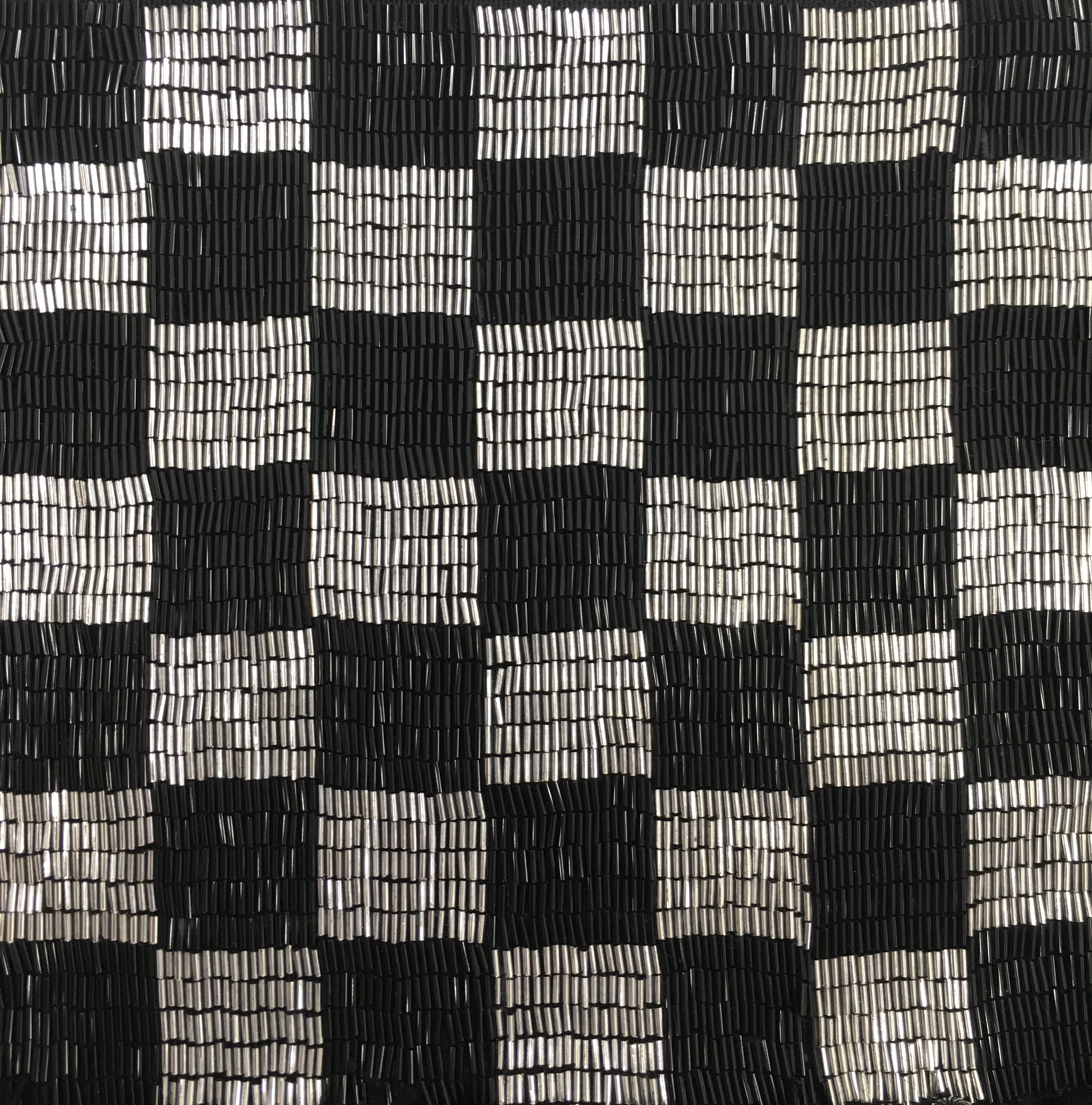 CHECKERBOARD EMBROIDERY