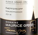 maurice griss kaefferkopf gewurztraminer 2014 gc 2015.png