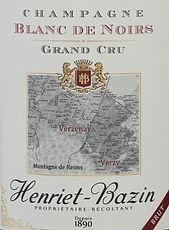 henriet-bazin blanc de noirs