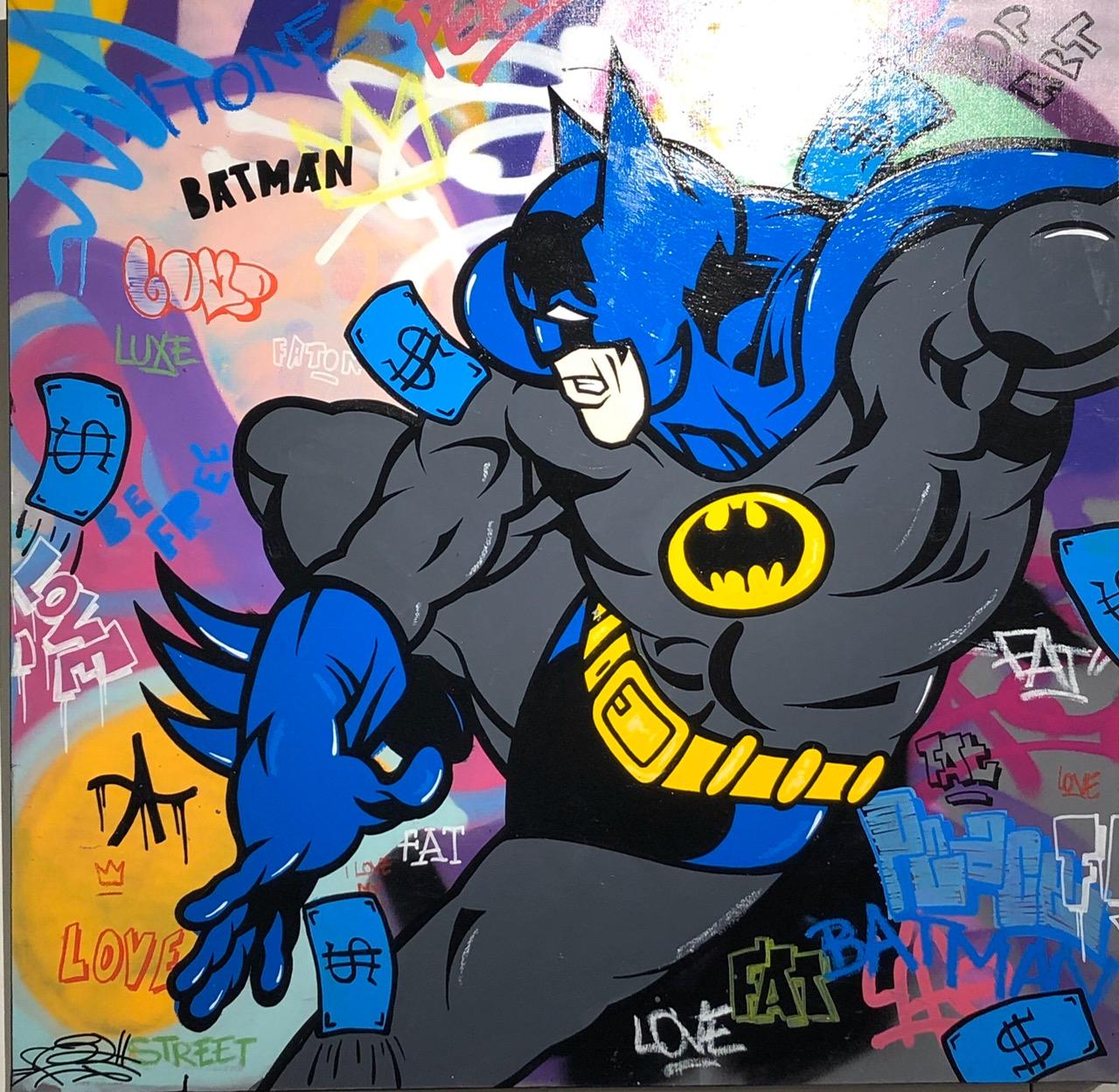 BATMAN 100x100cm