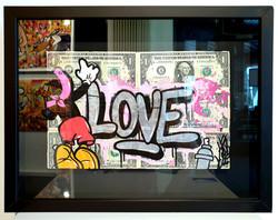 DOLLARS MICKEY LOVE 33X43CM