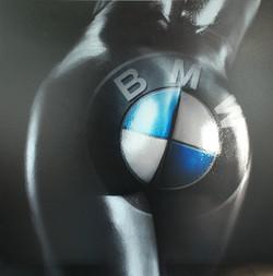 Buttocks BMW 60X60CM