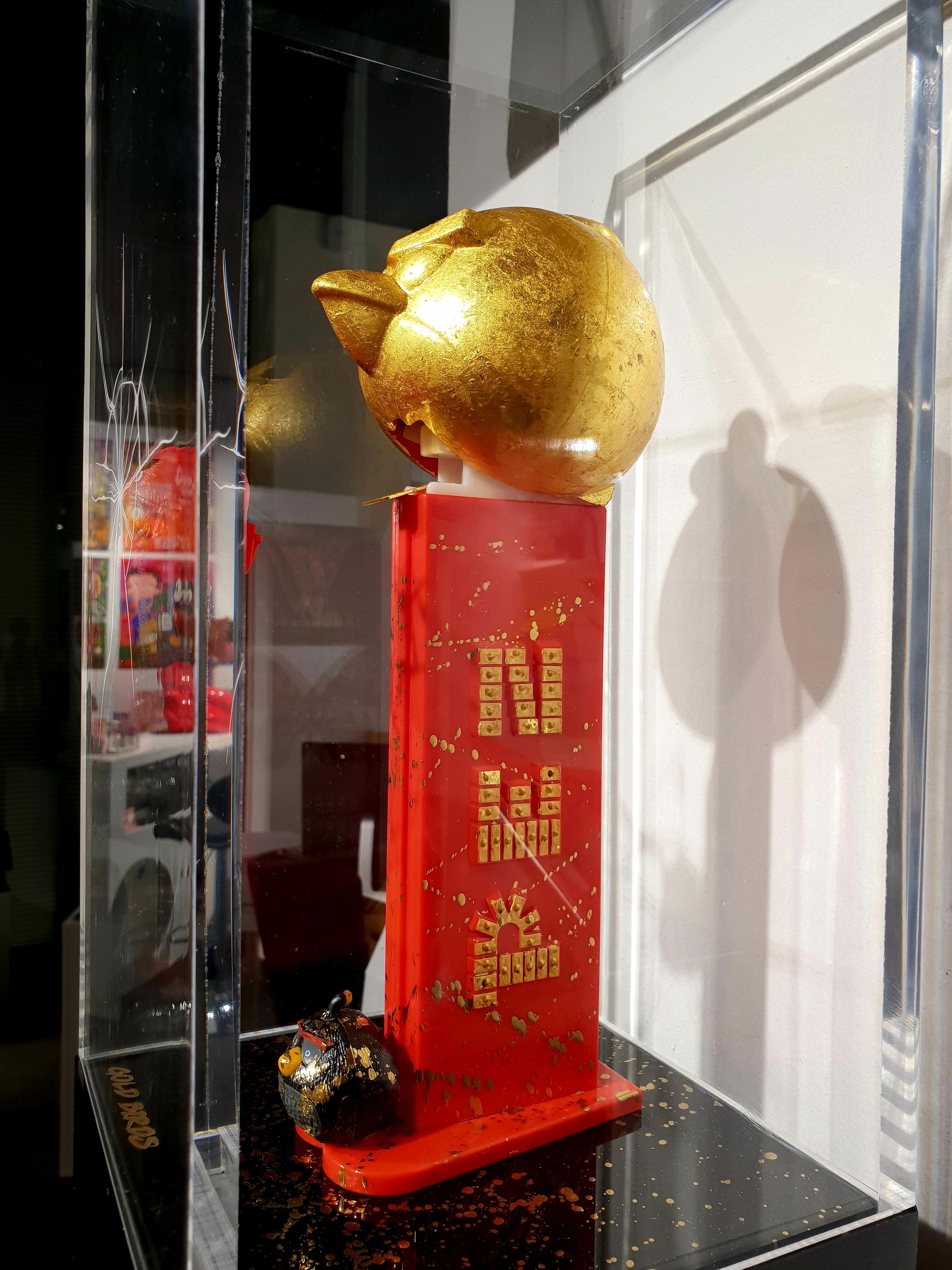 PEZ - GOLD BIRDS 99X20X20CM