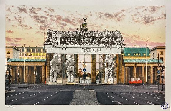 Giants, Brandenburg Gate, September 27, 2018