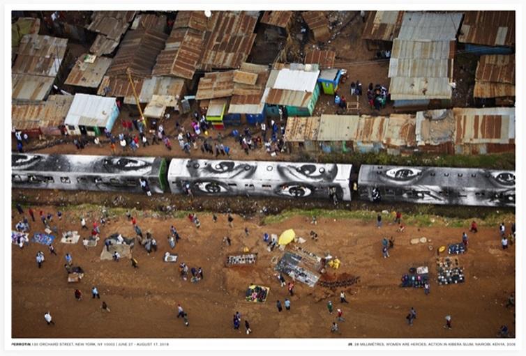 Action in Kibera slum, Nairobi