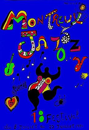Niki de Saint Phalle - Montreux Jazz 1984