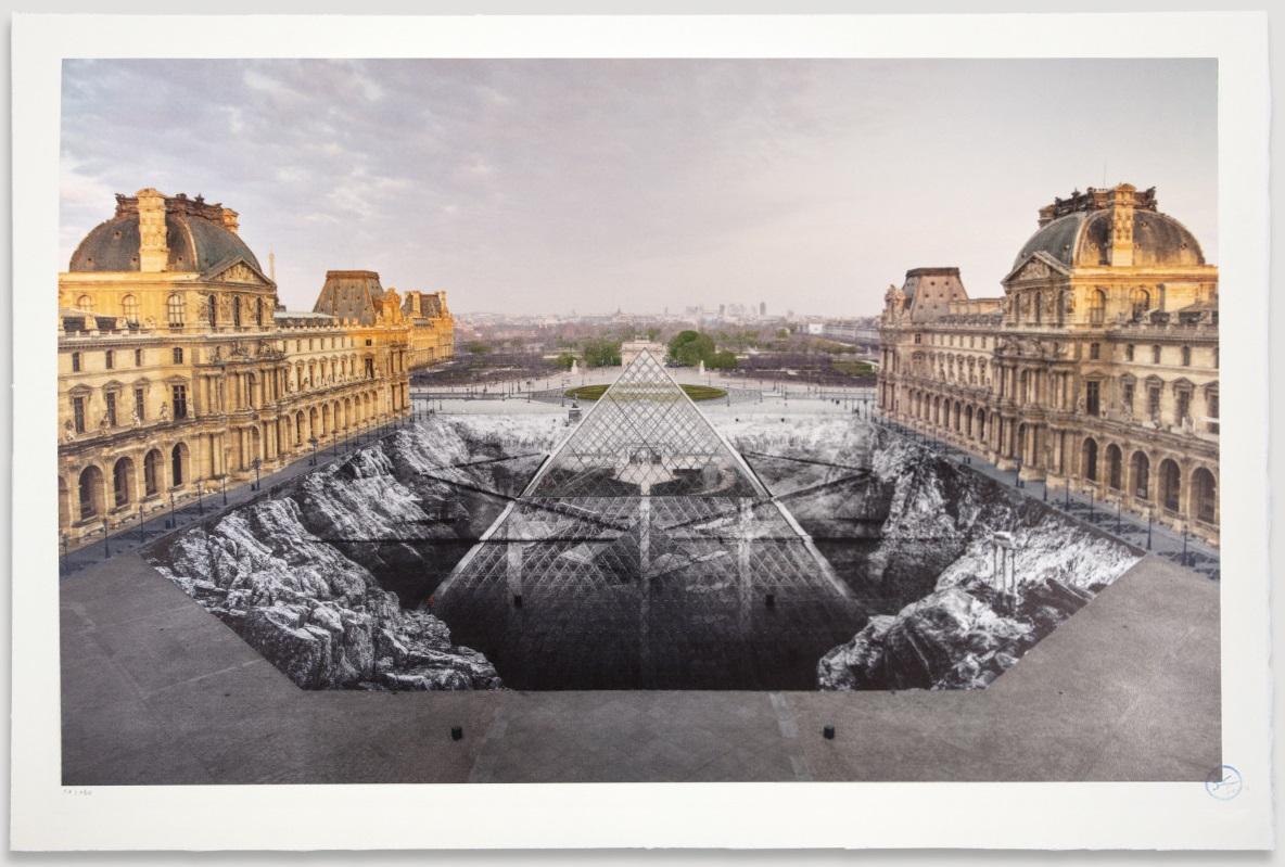 JR au Louvre, 30 Mars 2019, 6h50