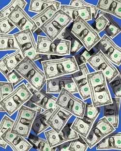 ONE MILLION DOLLAR BABY 71X56CM