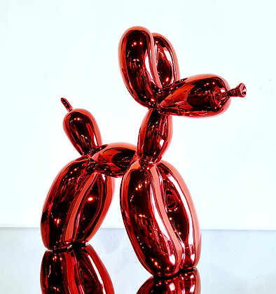Jeff Koons (d'après) - Balloon Dog Red